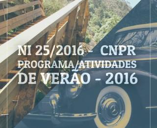 PROGRAMA / ATIVIDADES DE VERÃO 2016